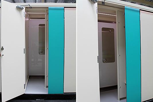 Portable Shower Hire - 12 Person Unisex